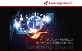 Learning Storm 商品リーフレット